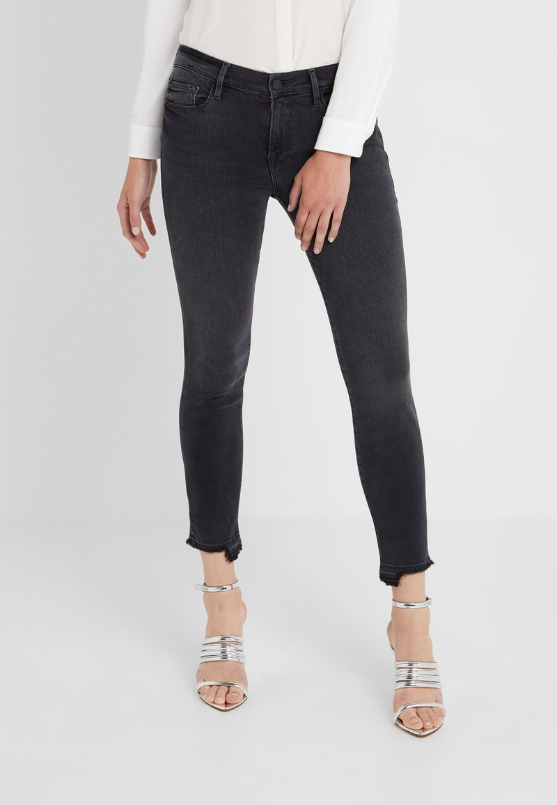 Frame Denim - DE JEANNE CROP RELEASED CUT HEM - Jeans Skinny Fit - micoy