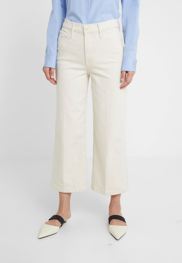 ALI CROP - Jeans Relaxed Fit - winter white