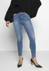 Frame Denim - LE HIGH SKINNY - Jeans Skinny Fit - blue denim - 0