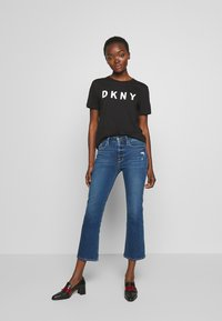 Frame Denim - LE CROP - Džíny Bootcut - blue denim - 1