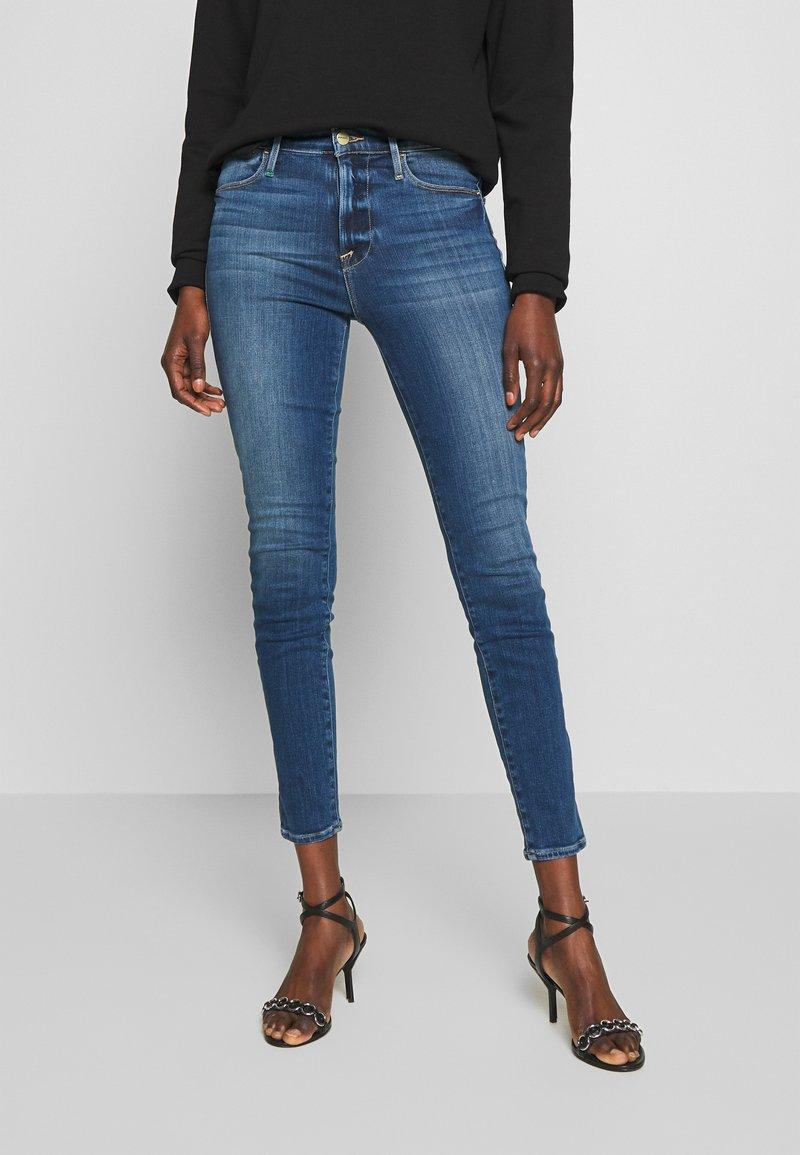 Frame Denim - HIGH - Skinny džíny - blue denim