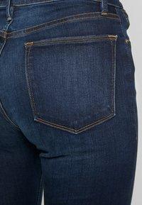 Frame Denim - LE HIGH FLARE - Široké džíny - augusta - 5