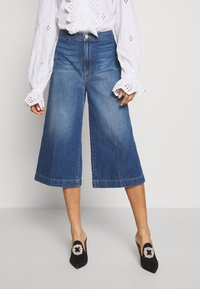 Frame Denim - LE COULOTTE TROUSER - Džíny Relaxed Fit - blue denim - 0