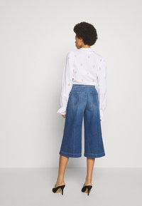 Frame Denim - LE COULOTTE TROUSER - Džíny Relaxed Fit - blue denim