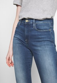 Frame Denim - LE HIGH - Flared jeans - blue denim - 5