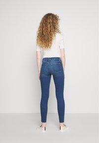 Frame Denim - LE HIGH SKINNY RAW EDGE - Skinny džíny - blue denim - 2