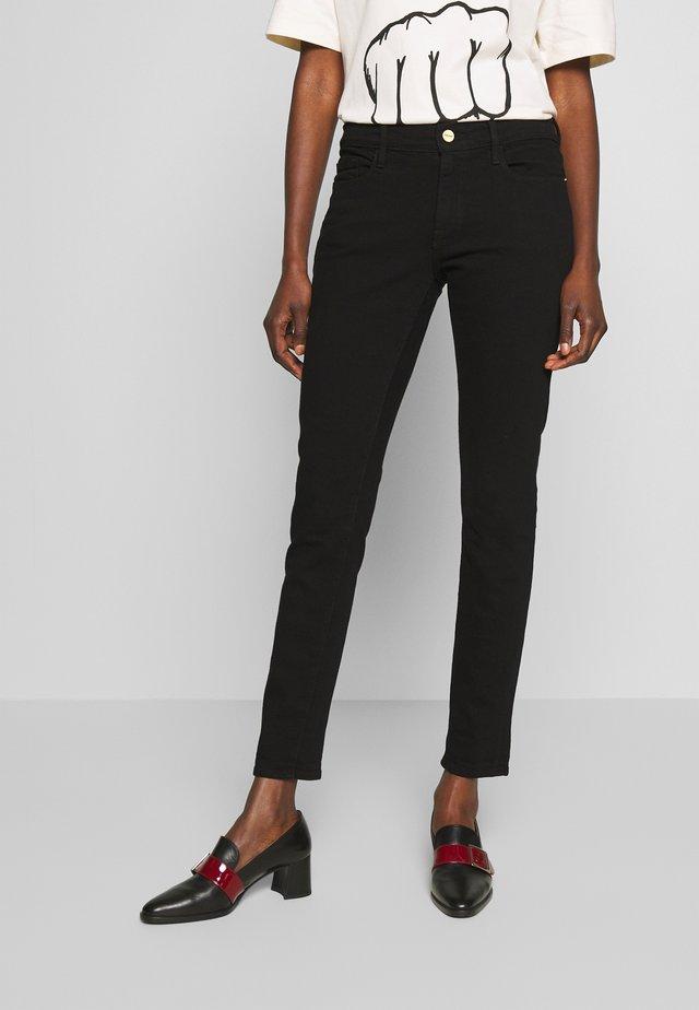 LE GARCON  - Jeansy Skinny Fit - noir