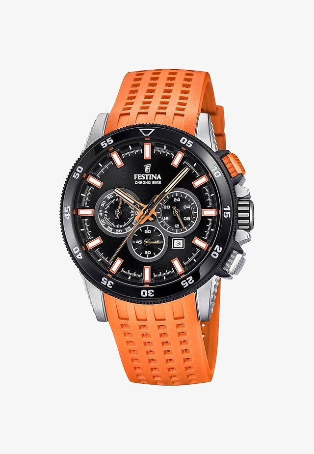Chronograph - orange