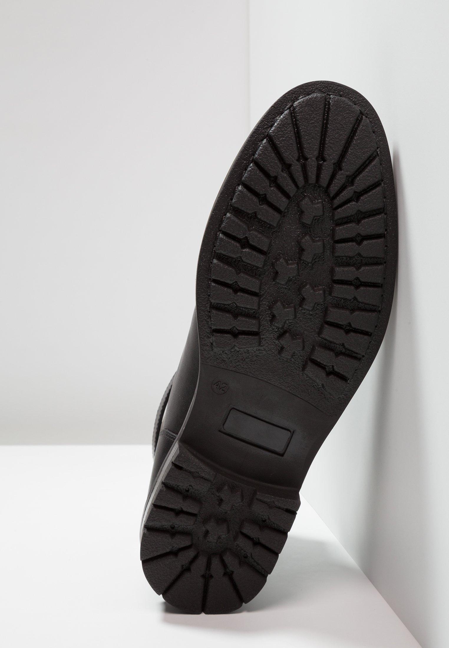 London HillBottines Lacets À Feud Black nOvmN80w