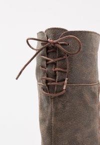 Felmini - COOPER - Snørestøvler - noumerat tobacco - 2