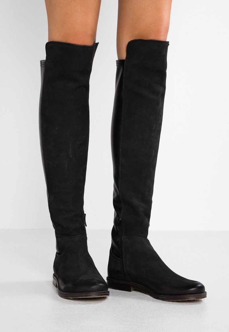 Felmini - CLASH - Over-the-knee boots - pacific/wonderful black