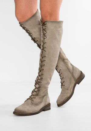 GREDO - Over-the-knee boots - pardo