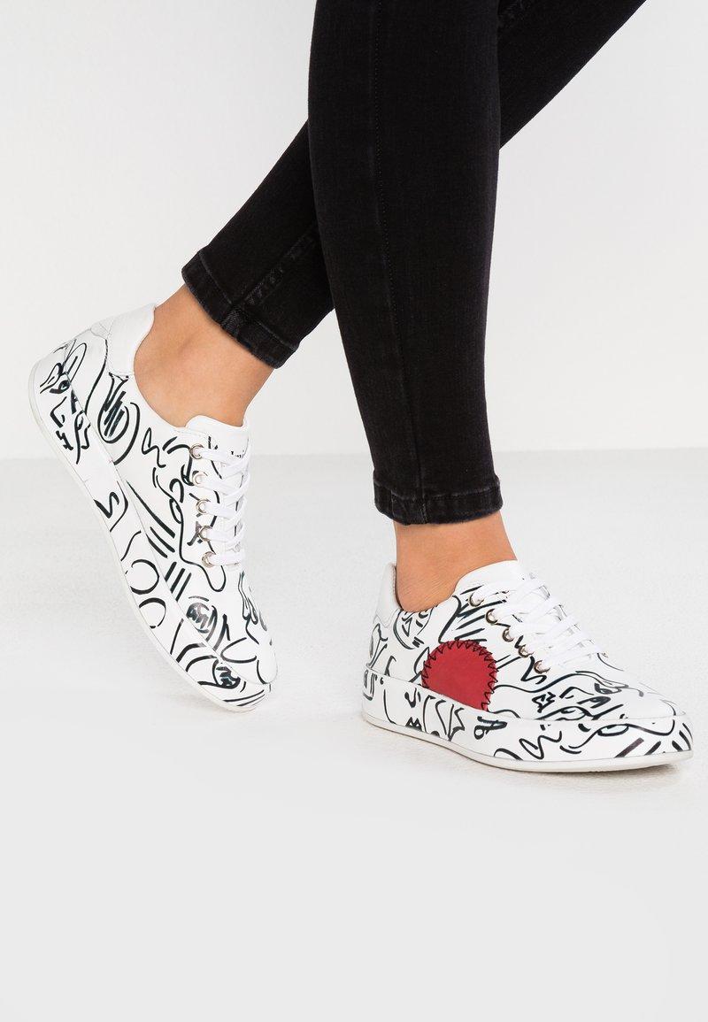 Felmini - TRUMP - Sneaker low - anilina encanastra digital/white/malboro