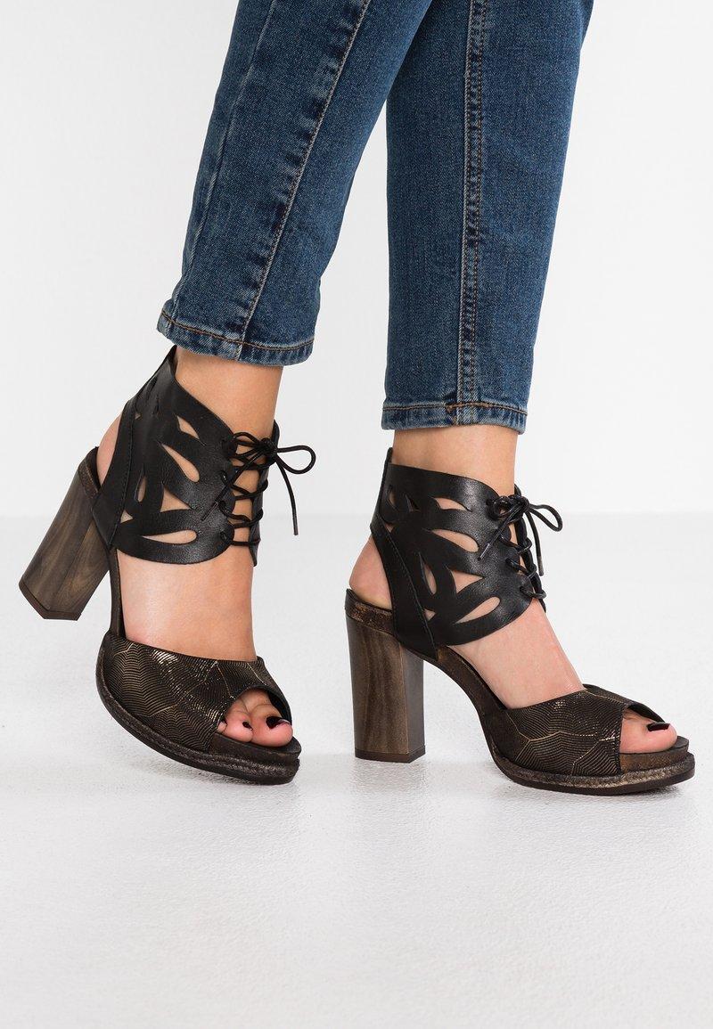 Felmini - ERENA - High heeled sandals - black