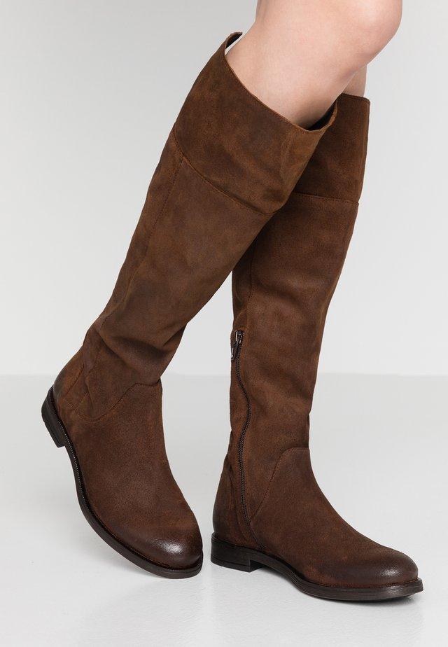 CHARMER - Boots - testa di moro