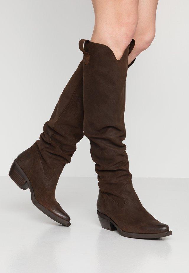 EL PASO - Over-the-knee boots - testa di moro