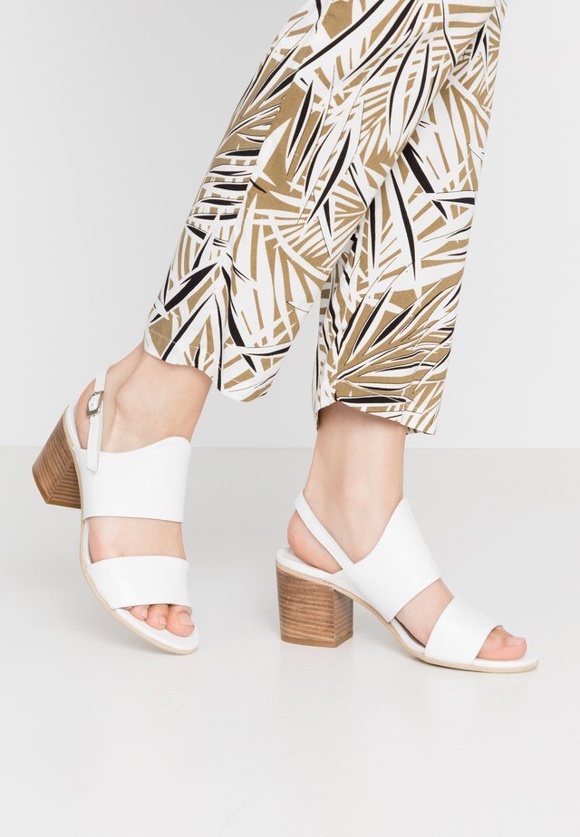 ARLENE - Sandals - light white