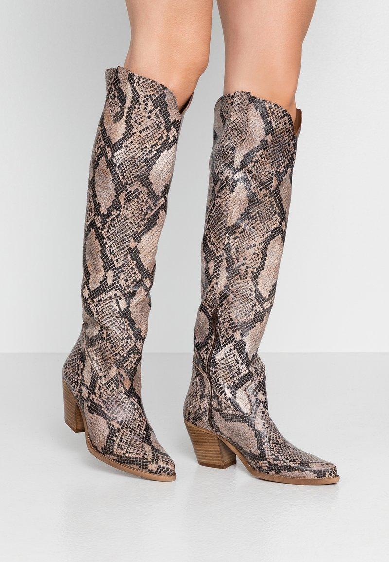 Felmini - LAREDO - Cowboy/Biker boots - krait sabia