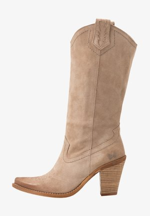 STONES - Cowboystøvler - taupe