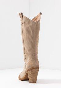 Felmini - STONES - Cowboy/Biker boots - taupe - 5