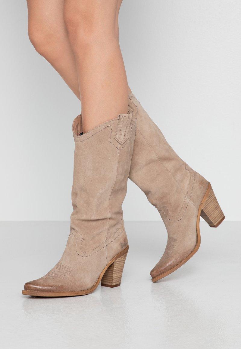 Felmini - STONES - Cowboy/Biker boots - taupe