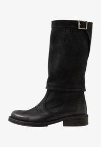 Felmini - COOPER - Kovbojské/motorkářské boty - morat black - 1