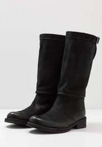 Felmini - COOPER - Kovbojské/motorkářské boty - morat black - 4