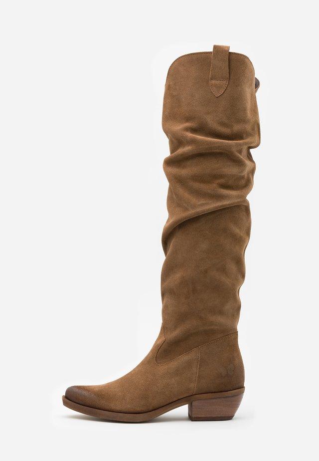 EL PASO - Overknee laarzen - marvin stone