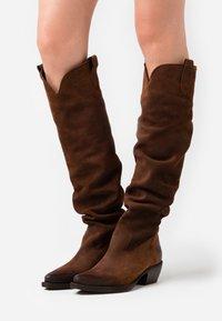 Felmini - EL PASO - Over-the-knee boots - nirvan onice - 0