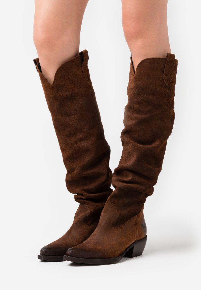 Felmini - EL PASO - Over-the-knee boots - nirvan onice