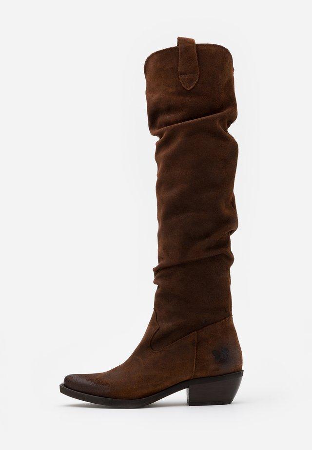 EL PASO - Over-the-knee boots - nirvan onice