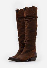 Felmini - EL PASO - Over-the-knee boots - nirvan onice - 2