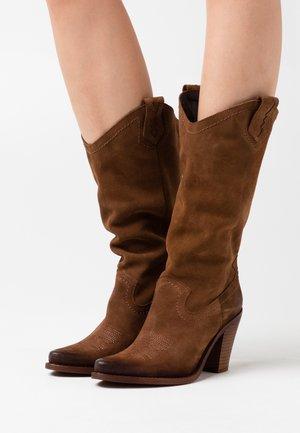 STONES - Kovbojské/motorkářské boty - marvin brown