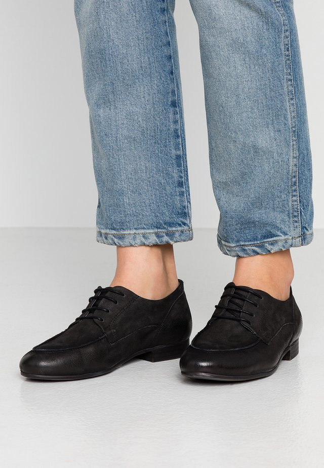 MELISSA - Šněrovací boty - pacific black
