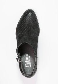 Felmini - OMEGA - Boots à talons - black - 1