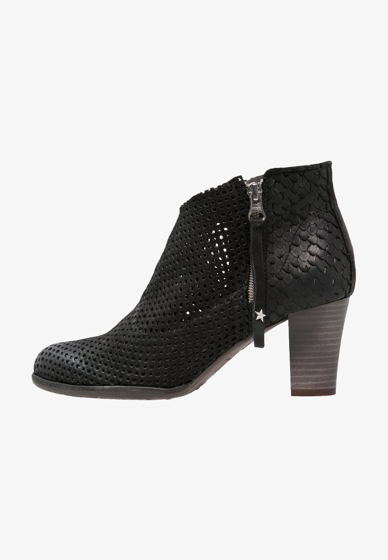 Felmini - OMEGA - Boots à talons - black