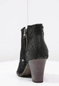 Felmini - OMEGA - Boots à talons - black - 3