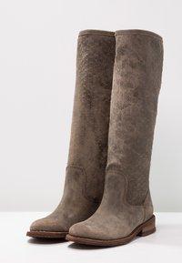 Felmini - GREDO - Cowboy/Biker boots - tobacco - 3