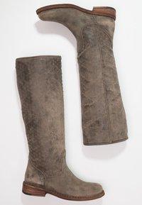 Felmini - GREDO - Cowboy/Biker boots - tobacco - 2