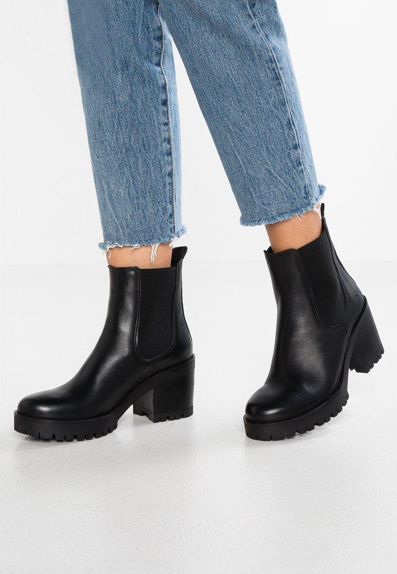 Felmini - COSMO - Platform ankle boots - black