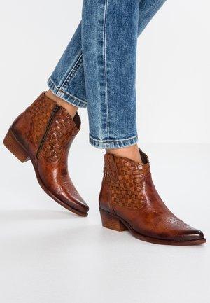 WEST - Boots à talons - vega azafran