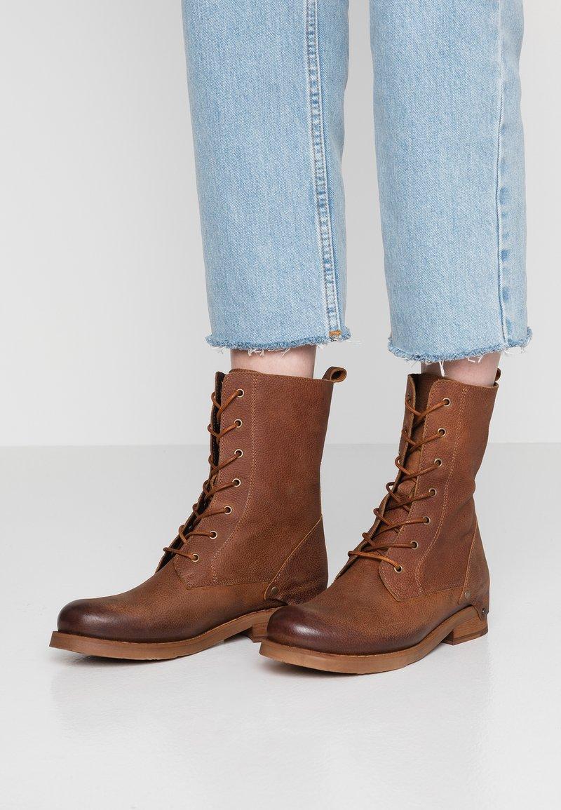 Felmini - SERPA - Lace-up ankle boots - indigo santiago