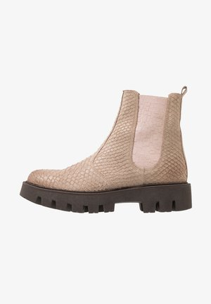 PIOLA - Kotníkové boty na platformě - sand