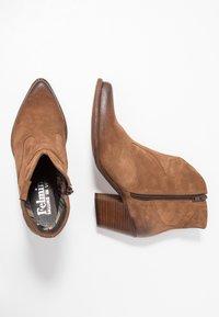 Felmini - LAREDO - Cowboy/biker ankle boot - tan - 3