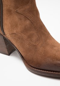 Felmini - LAREDO - Cowboy/biker ankle boot - tan - 2