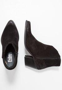 Felmini - LAREDO - Kovbojské/motorkářské boty - black - 3