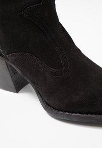 Felmini - LAREDO - Kovbojské/motorkářské boty - black - 2