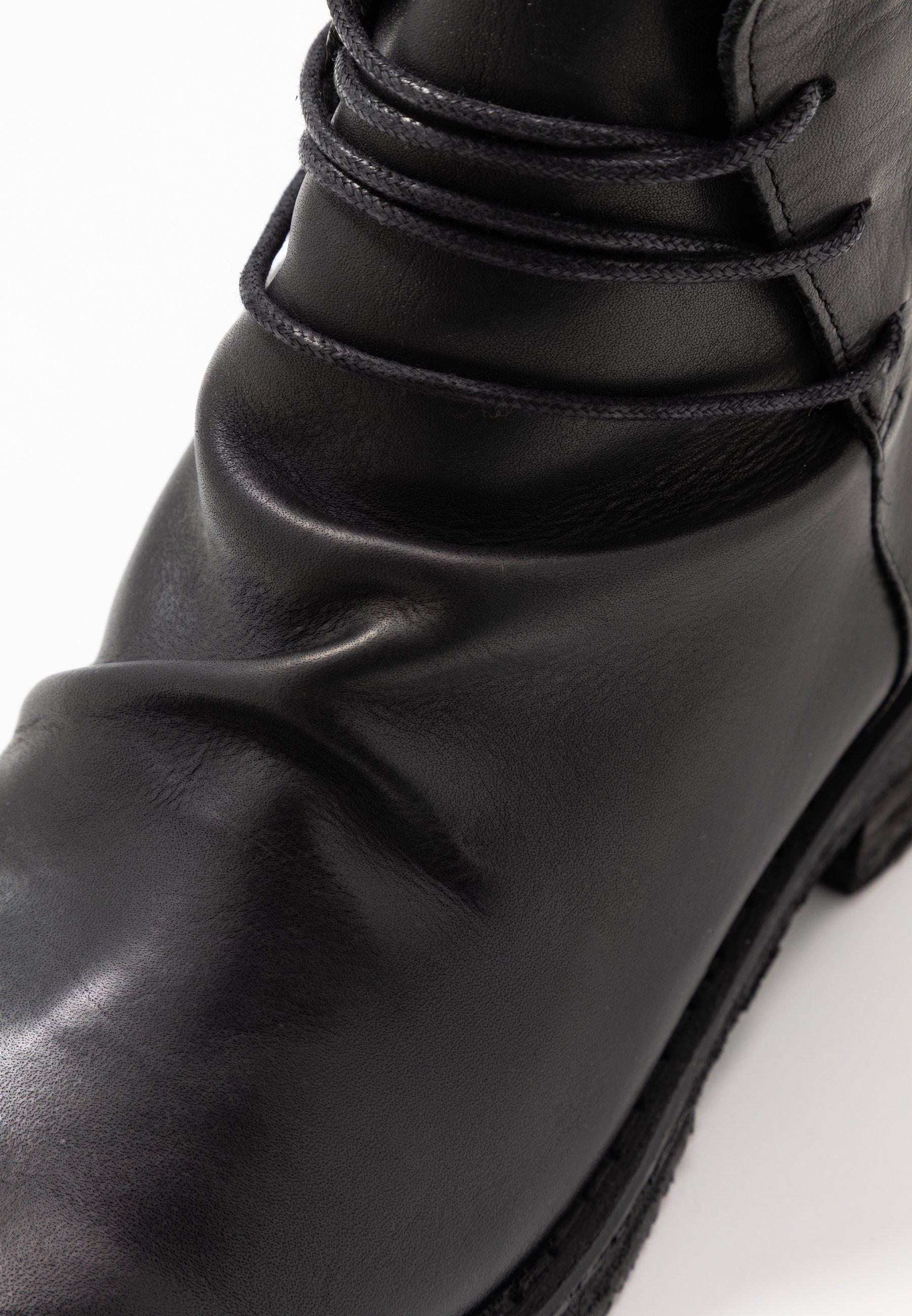 COOPER Snörstövletter uraco black