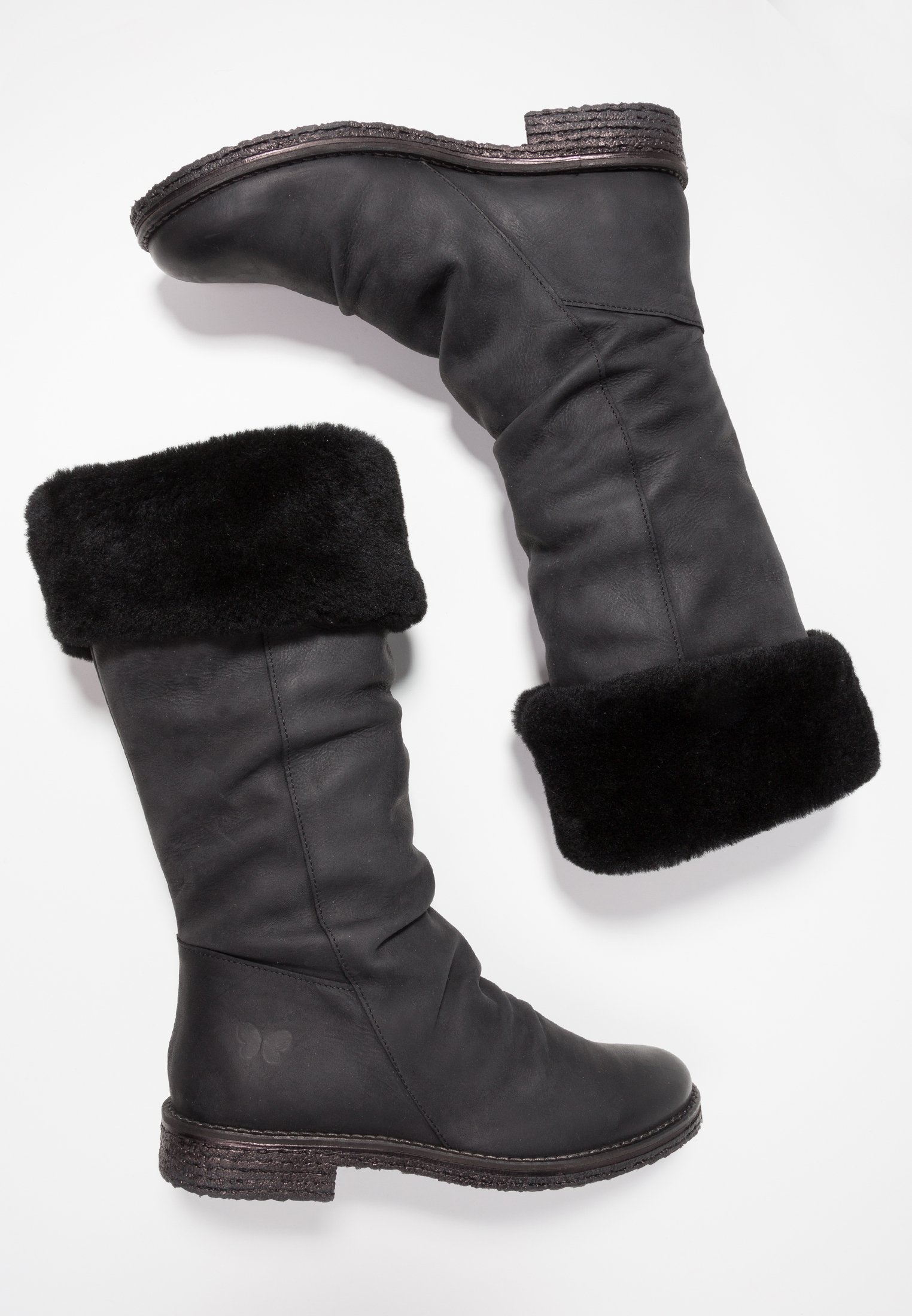 Felmini CREPONA - Bottes de neige - james black