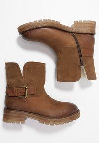 Felmini - JAKI - Winter boots - indigo/serraje santiago/tan - 3